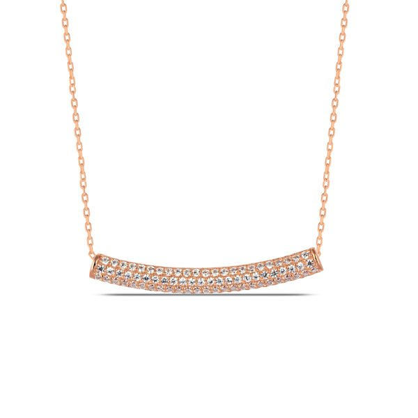 Bridal Necklace in Rose Gold