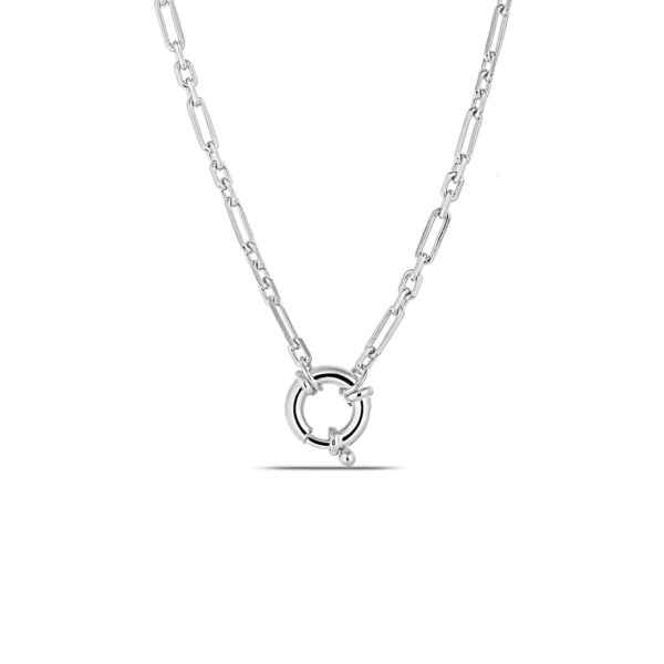 Chain Necklace in Silver