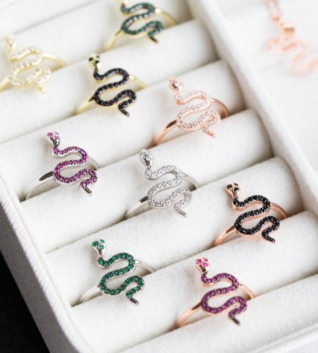Sarpent snake jewellery collection